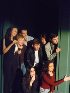 "Teen Production of ""Toilet Talk"" spring 2015 at the Pearse Centre"