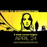Intro to screenwriting starting soon!