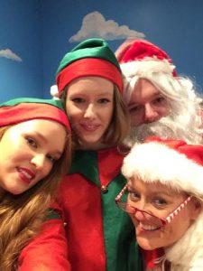 Santa and Co.selfie.2014